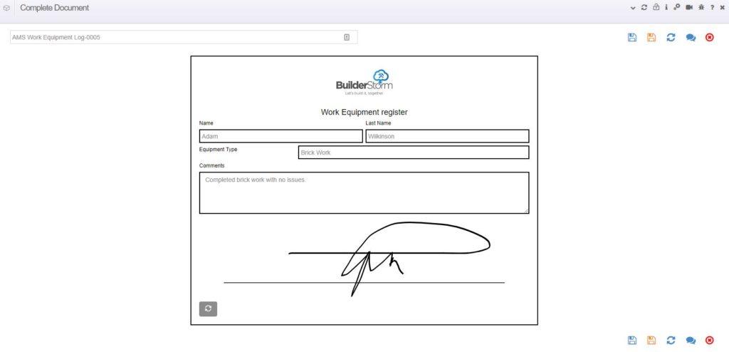 Builderstorm-Completing-digital-documents