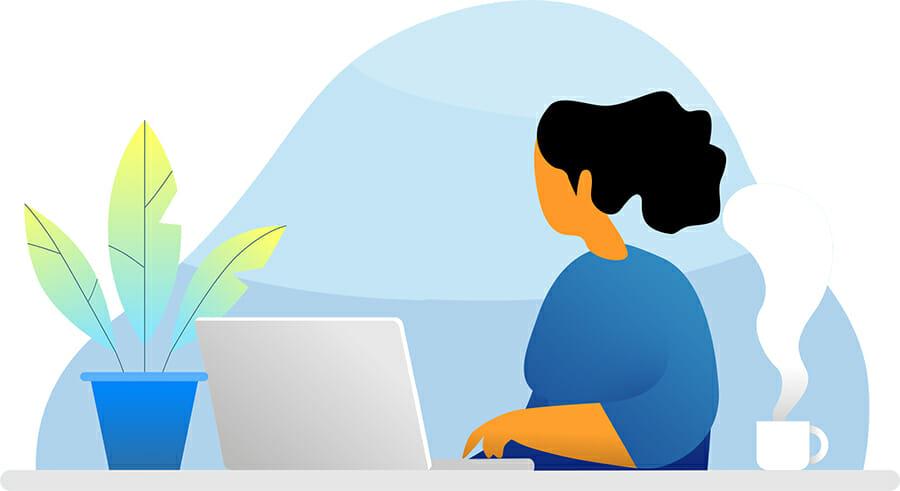 Builderstorm-illustration-female-desk